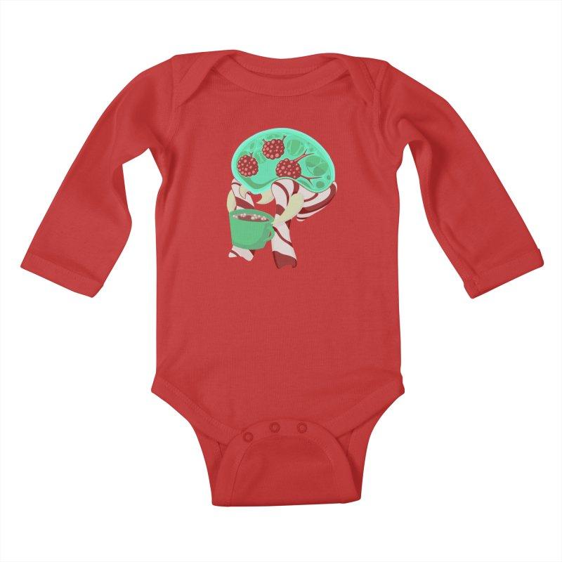 Feeling Festive Kids Baby Longsleeve Bodysuit by Creaturista's Fine Goods