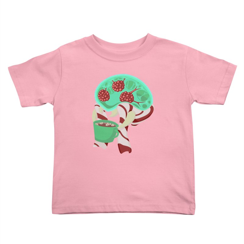 Feeling Festive Kids Toddler T-Shirt by Creaturista's Fine Goods
