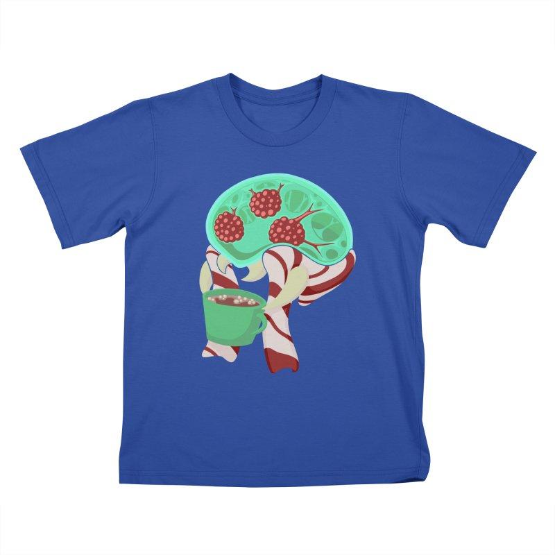 Feeling Festive Kids T-Shirt by Creaturista's Fine Goods