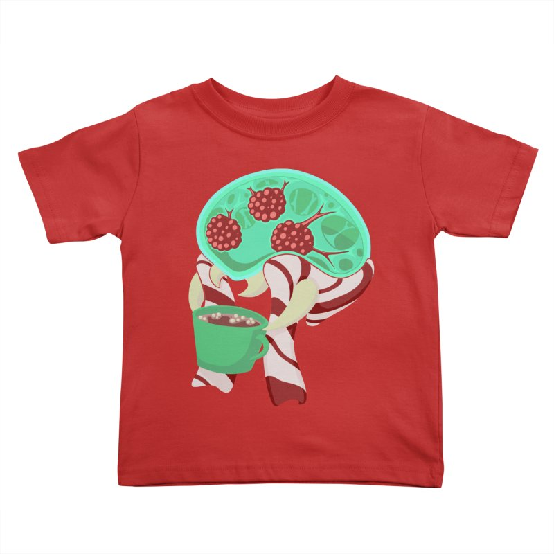 Feeling Festive Kids Toddler T-Shirt by Creaturista's Fine Goods
