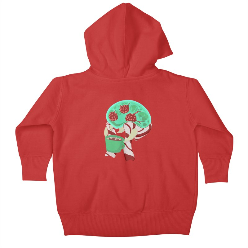Feeling Festive Kids Baby Zip-Up Hoody by Creaturista's Fine Goods