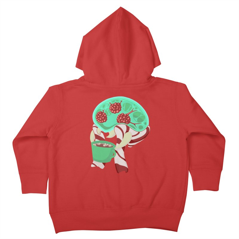 Feeling Festive Kids Toddler Zip-Up Hoody by Creaturista's Fine Goods