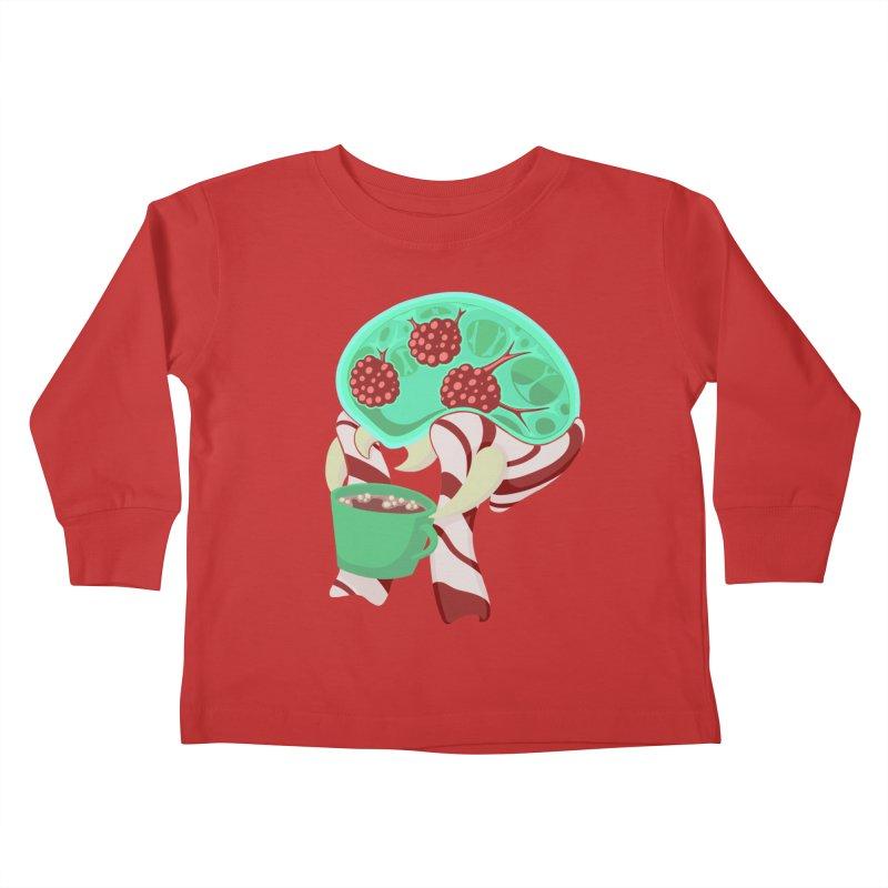 Feeling Festive Kids Toddler Longsleeve T-Shirt by Creaturista's Fine Goods