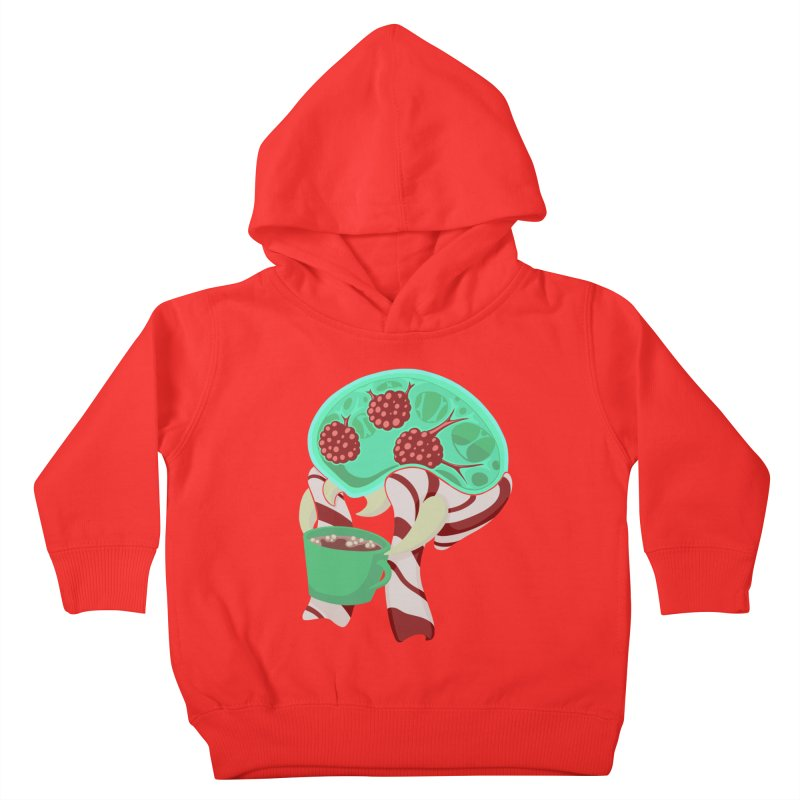 Feeling Festive Kids Toddler Pullover Hoody by Creaturista's Fine Goods