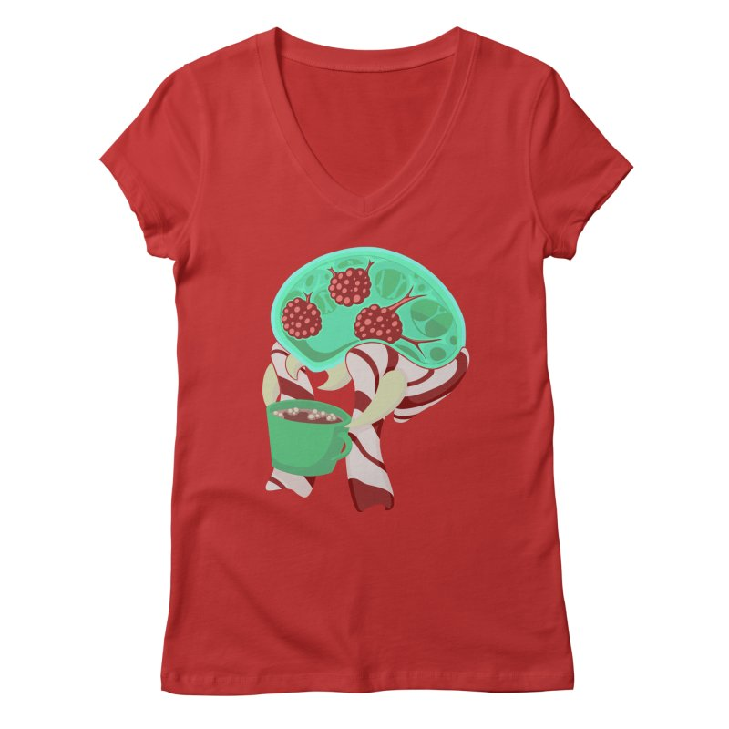 Feeling Festive Women's V-Neck by Creaturista's Fine Goods