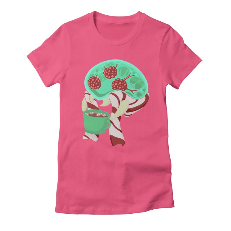 Feeling Festive Women's Fitted T-Shirt by Creaturista's Fine Goods