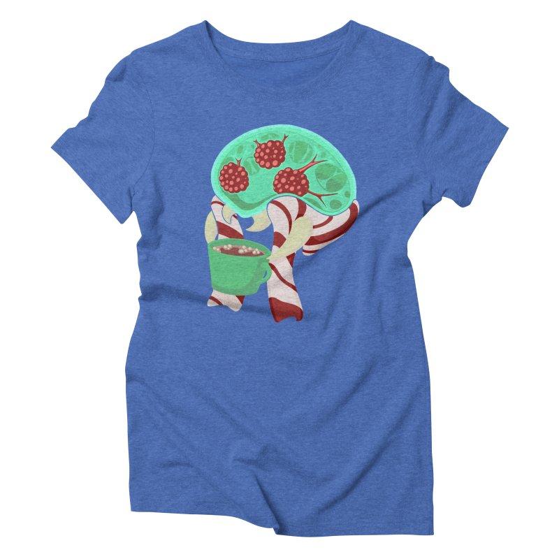 Feeling Festive Women's Triblend T-Shirt by Creaturista's Fine Goods