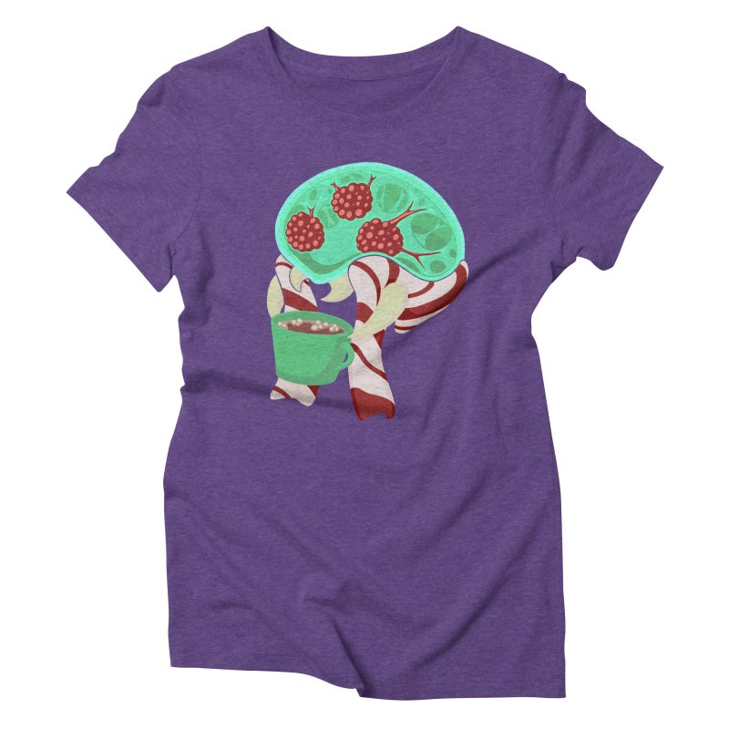 Feeling Festive Women's Triblend T-Shirt by Creaturista's Fine Goods