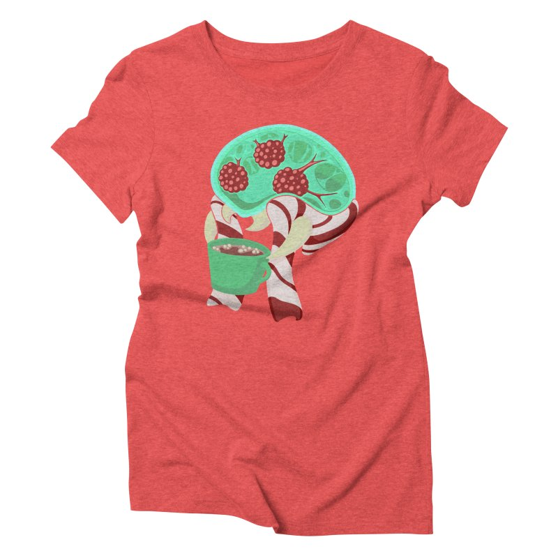 Feeling Festive Women's T-Shirt by Creaturista's Fine Goods