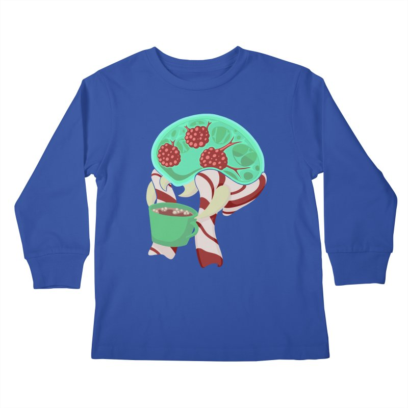 Feeling Festive Kids Longsleeve T-Shirt by Creaturista's Fine Goods