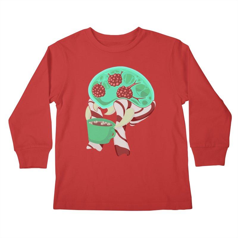 Feeling Festive Kids Longsleeve T-Shirt by Creaturista's Fine Goods