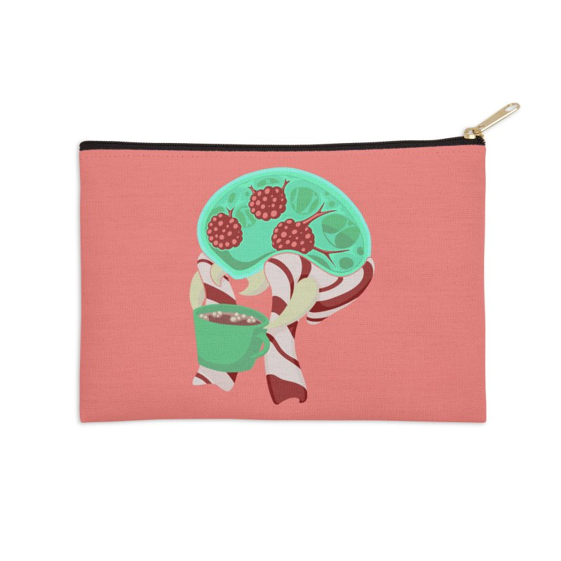 Feeling Festive Accessories Zip Pouch by Creaturista's Fine Goods