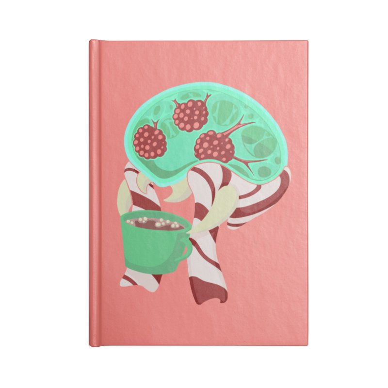Feeling Festive Accessories Blank Journal Notebook by Creaturista's Fine Goods