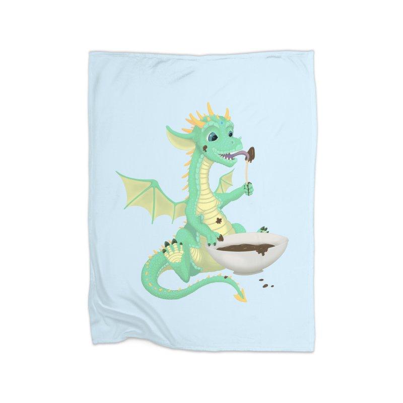 Helper Dragon Home Blanket by Creaturista's Fine Goods