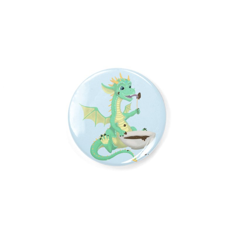 Helper Dragon Accessories Button by Creaturista's Fine Goods