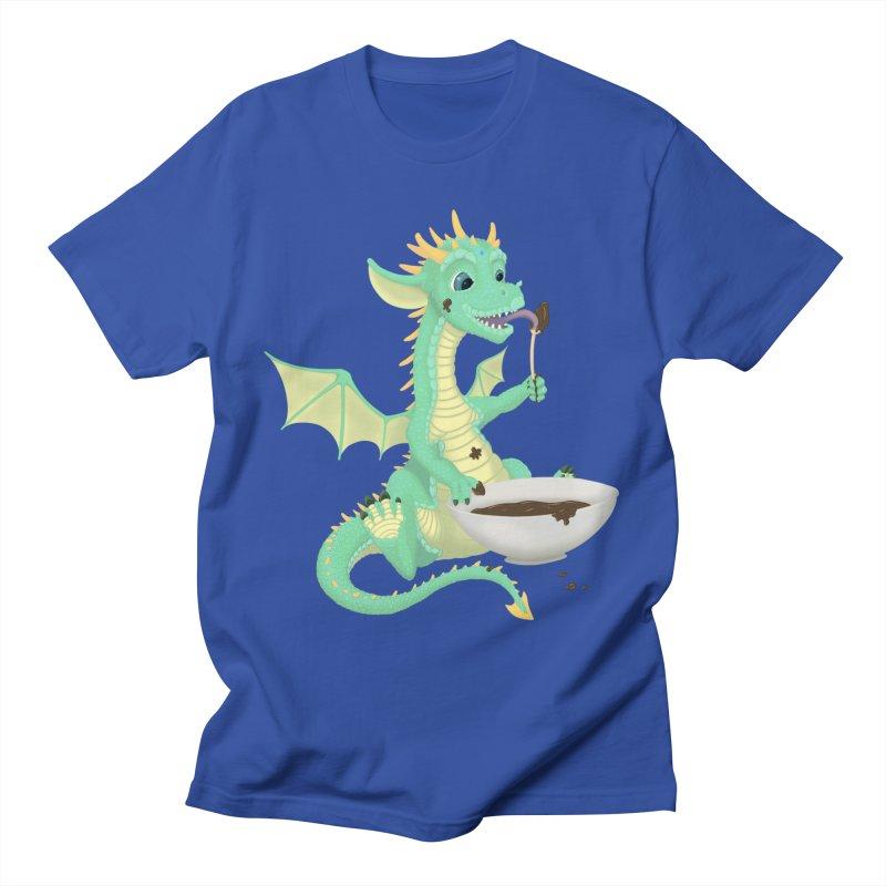 Helper Dragon Men's T-Shirt by Creaturista's Fine Goods