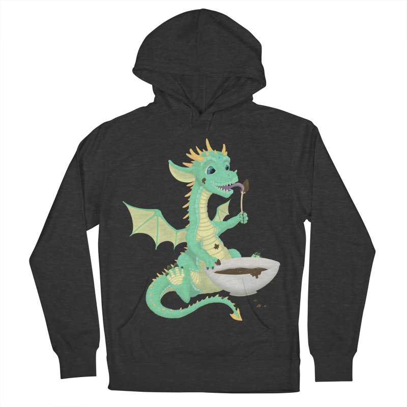 Helper Dragon Women's French Terry Pullover Hoody by Creaturista's Fine Goods