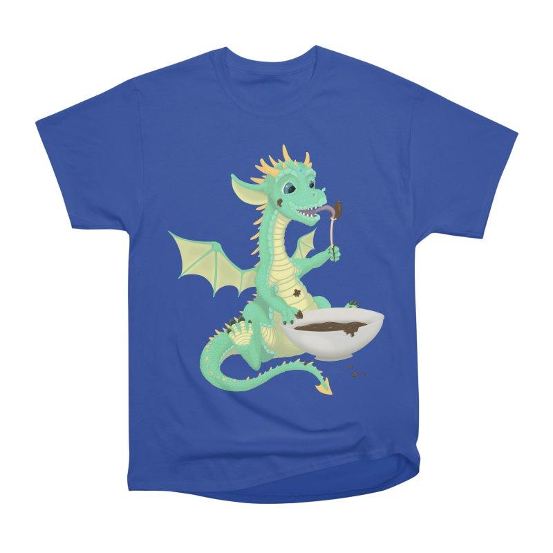 Helper Dragon Women's Heavyweight Unisex T-Shirt by Creaturista's Fine Goods