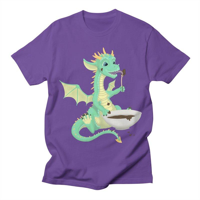 Helper Dragon Men's Regular T-Shirt by Creaturista's Fine Goods