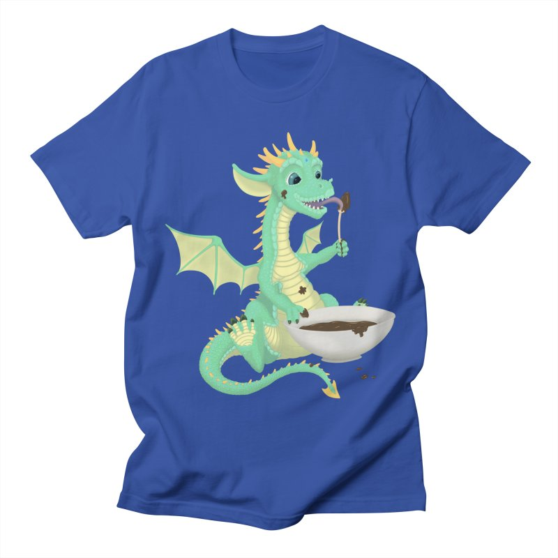 Helper Dragon Men's T-Shirt by Creaturista's Fine Goods