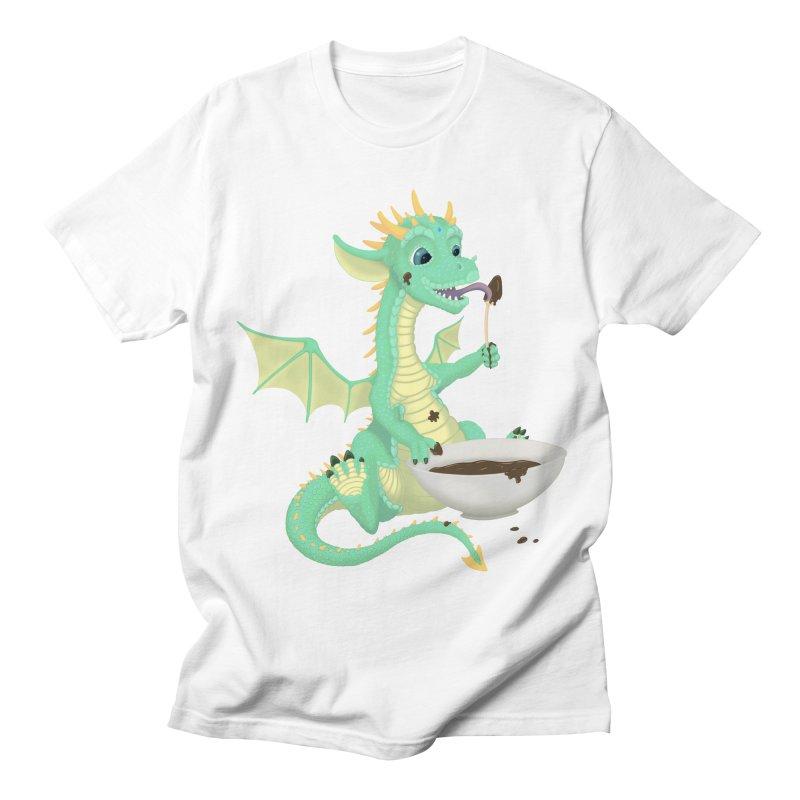 Helper Dragon Women's Regular Unisex T-Shirt by Creaturista's Fine Goods