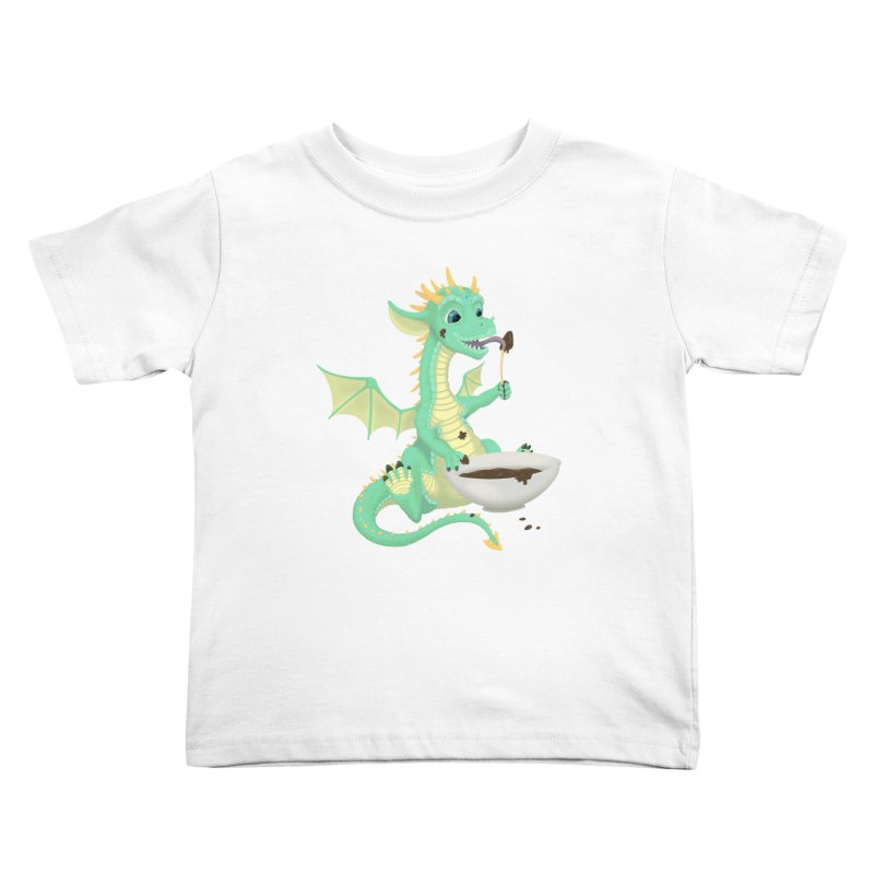 Helper Dragon Kids Toddler T-Shirt by Creaturista's Fine Goods