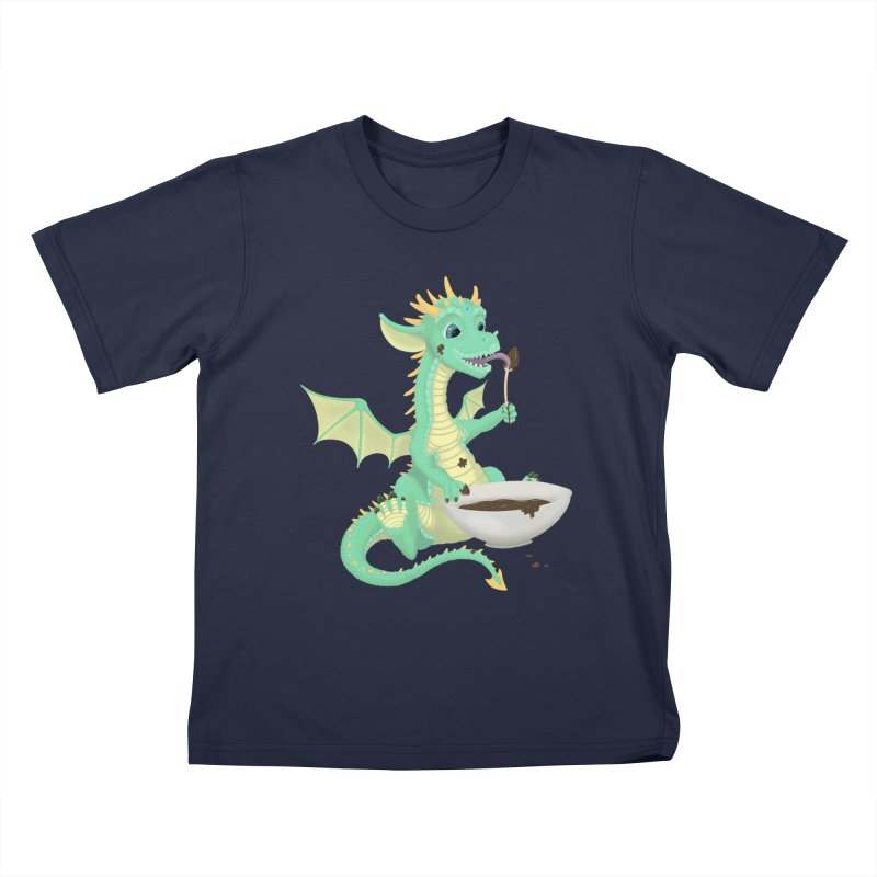 Helper Dragon Kids T-Shirt by Creaturista's Fine Goods