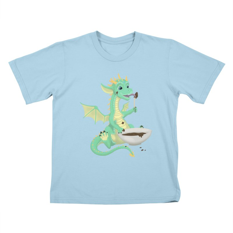 Helper Dragon Kids T-Shirt by Creaturista's Fine Goods