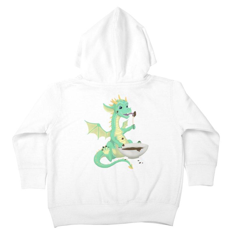 Helper Dragon Kids Toddler Zip-Up Hoody by Creaturista's Fine Goods
