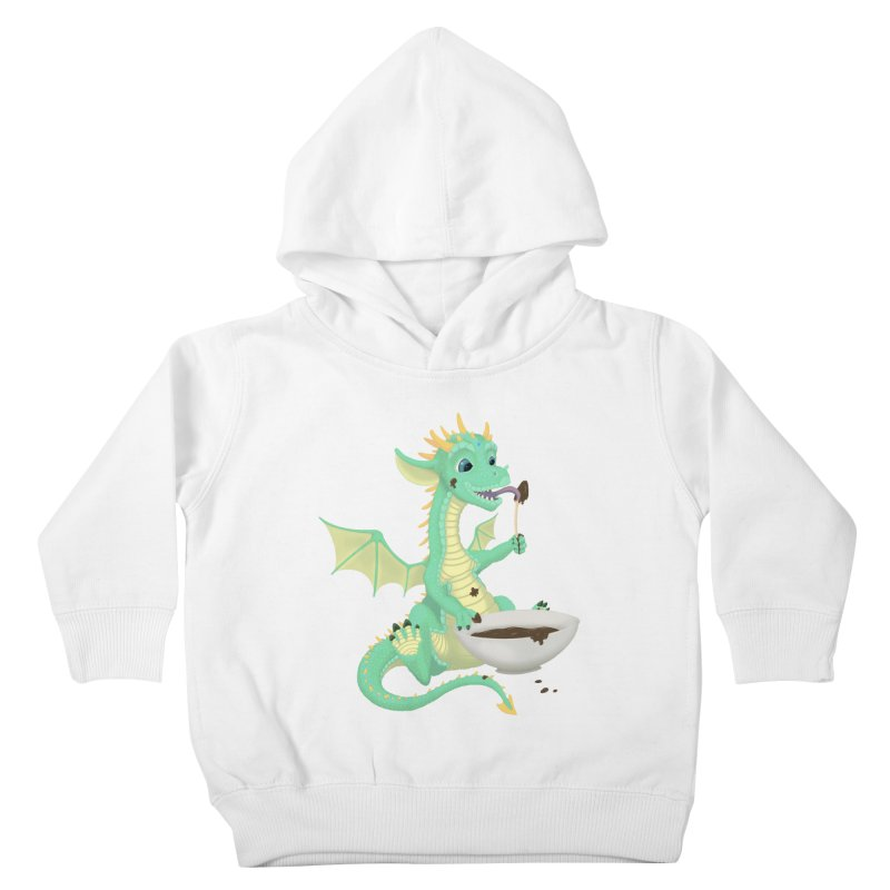 Helper Dragon Kids Toddler Pullover Hoody by Creaturista's Fine Goods