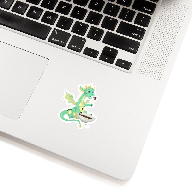 Helper Dragon Accessories Sticker by Creaturista's Fine Goods