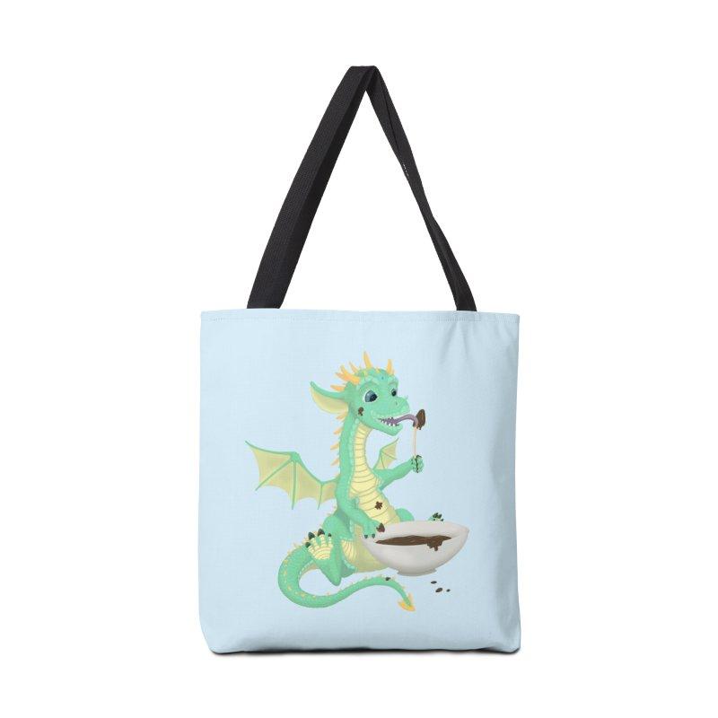 Helper Dragon Accessories Tote Bag Bag by Creaturista's Fine Goods