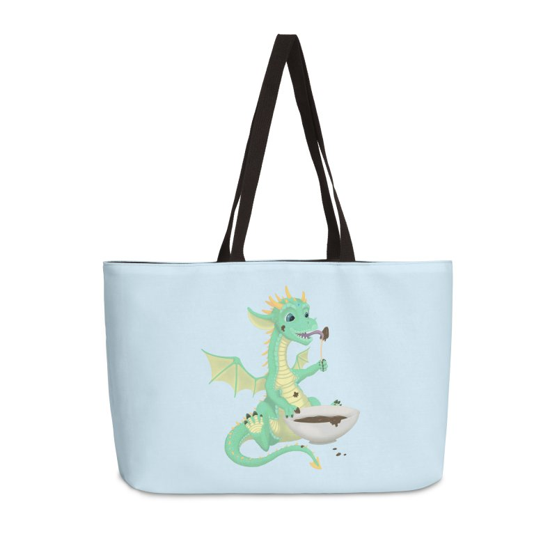 Helper Dragon Accessories Weekender Bag Bag by Creaturista's Fine Goods
