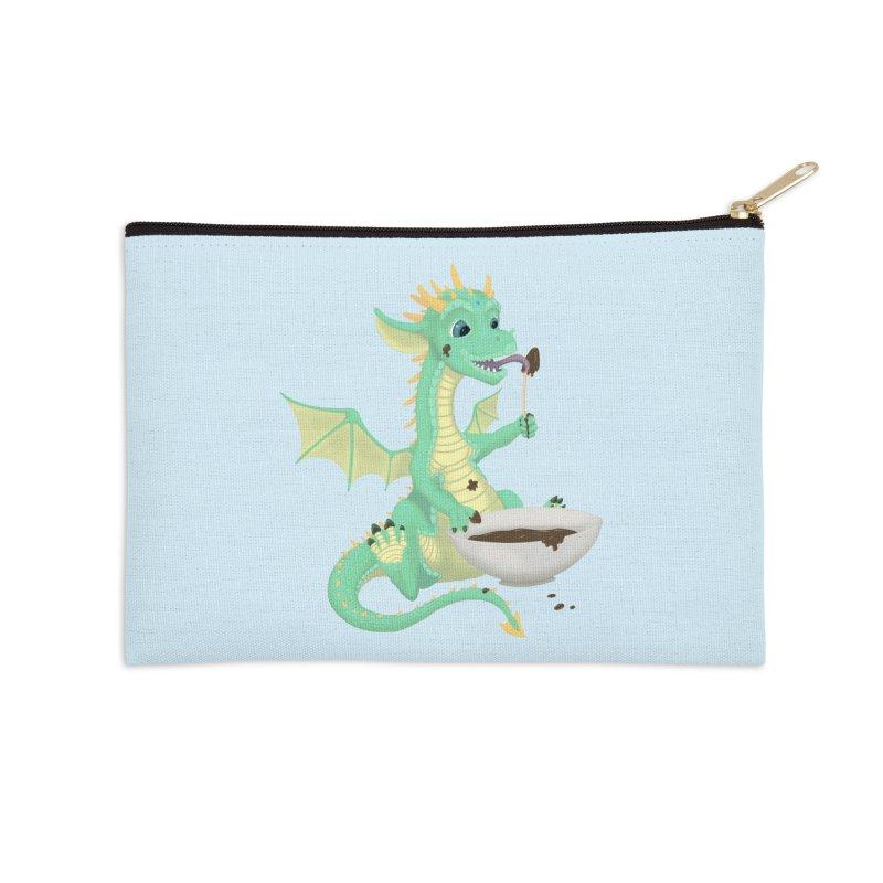 Helper Dragon Accessories Zip Pouch by Creaturista's Fine Goods