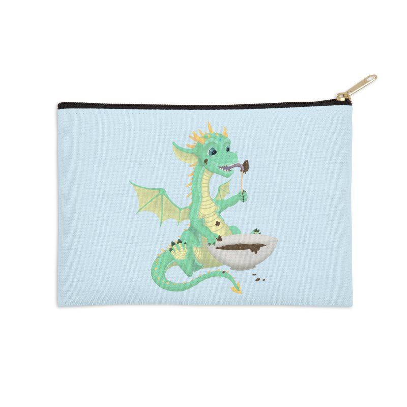 Helper Dragon Accessories Zip Pouch by Creaturista's Fine Goods