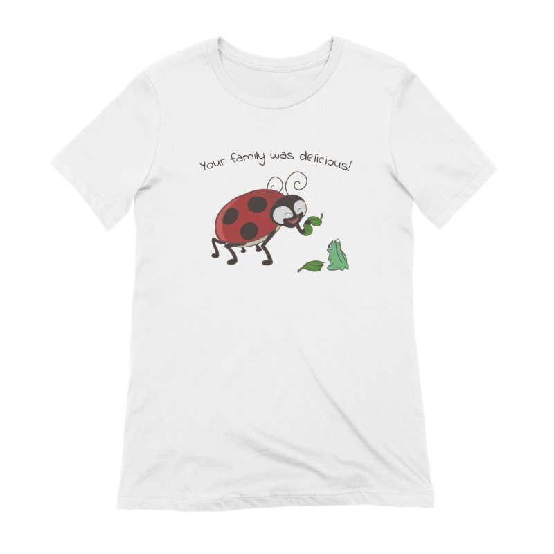 Adorable Monster Women's Extra Soft T-Shirt by Creaturista's Fine Goods