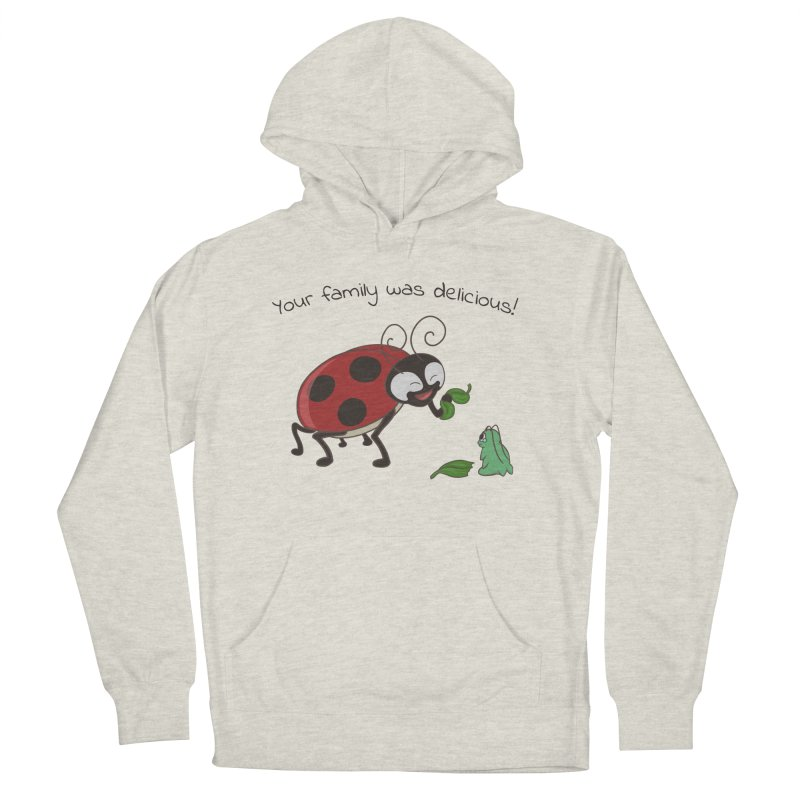 Adorable Monster Women's French Terry Pullover Hoody by Creaturista's Fine Goods