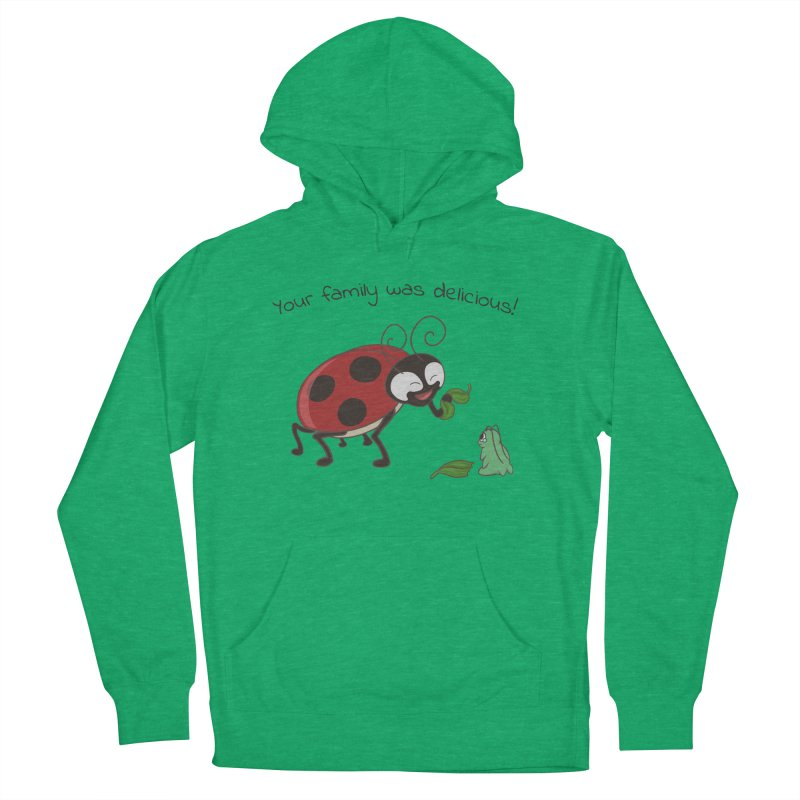 Adorable Monster Men's French Terry Pullover Hoody by Creaturista's Fine Goods