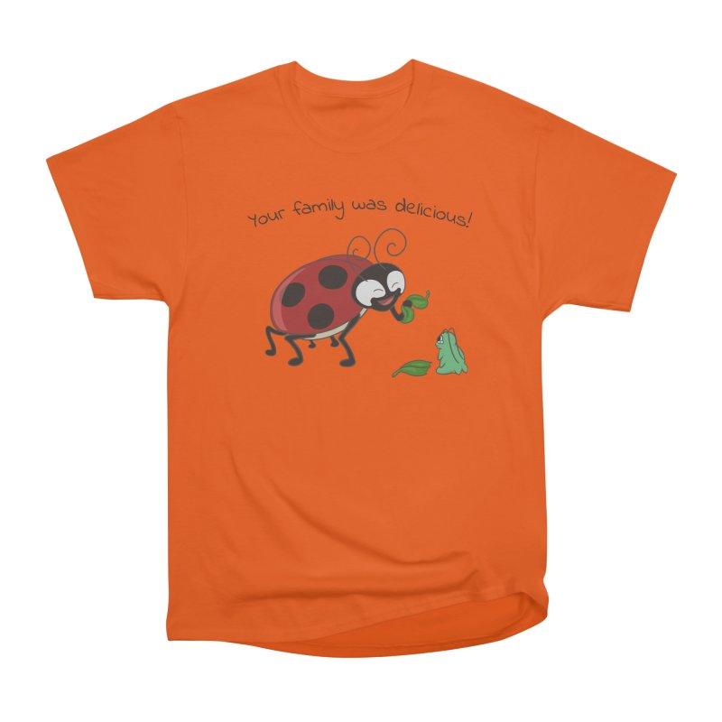 Adorable Monster Men's Heavyweight T-Shirt by Creaturista's Fine Goods