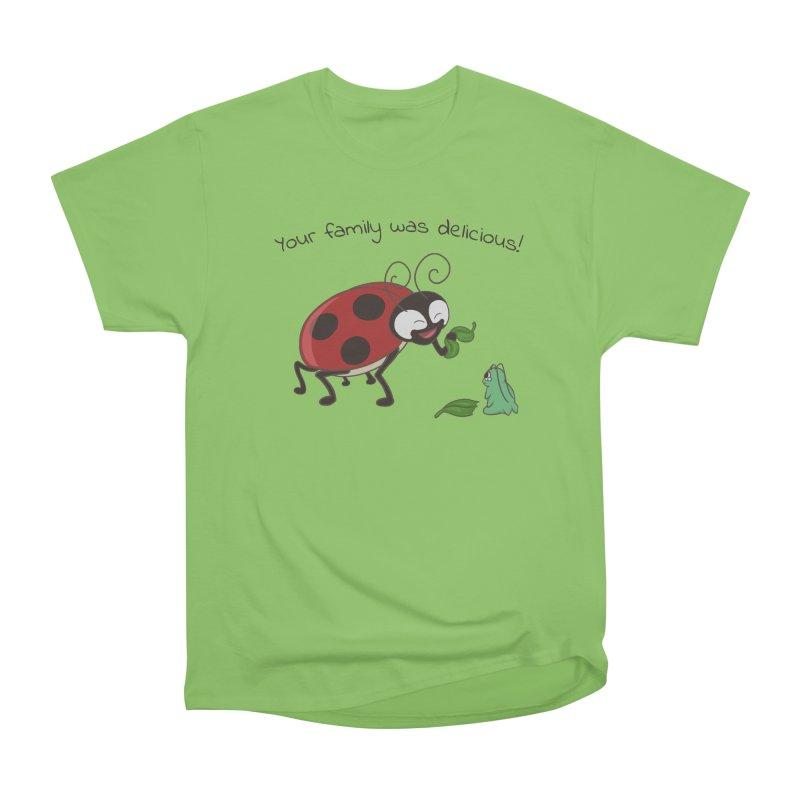 Adorable Monster Women's Heavyweight Unisex T-Shirt by Creaturista's Fine Goods