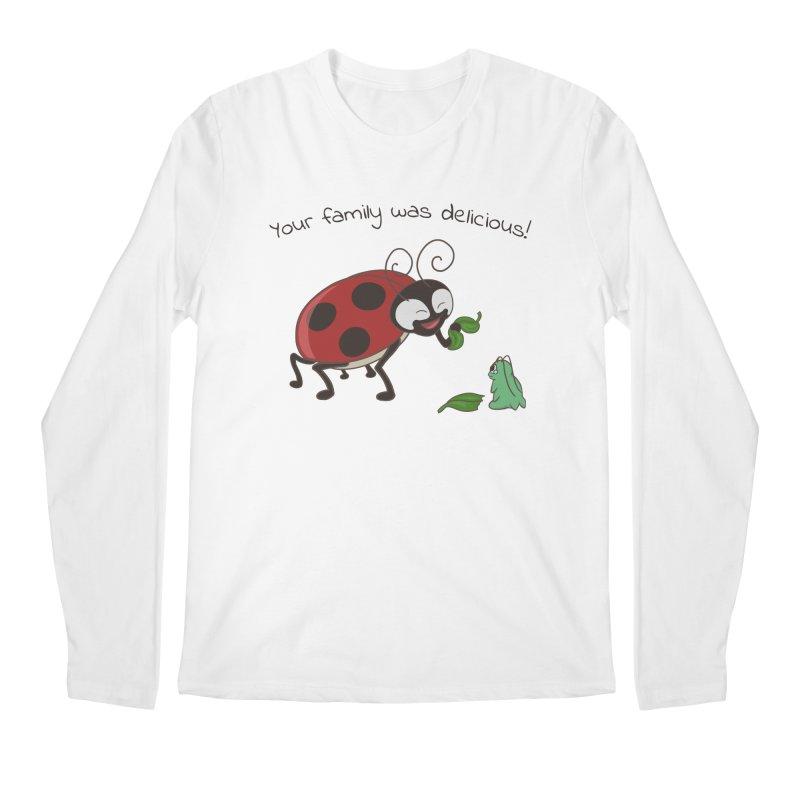 Adorable Monster Men's Regular Longsleeve T-Shirt by Creaturista's Fine Goods