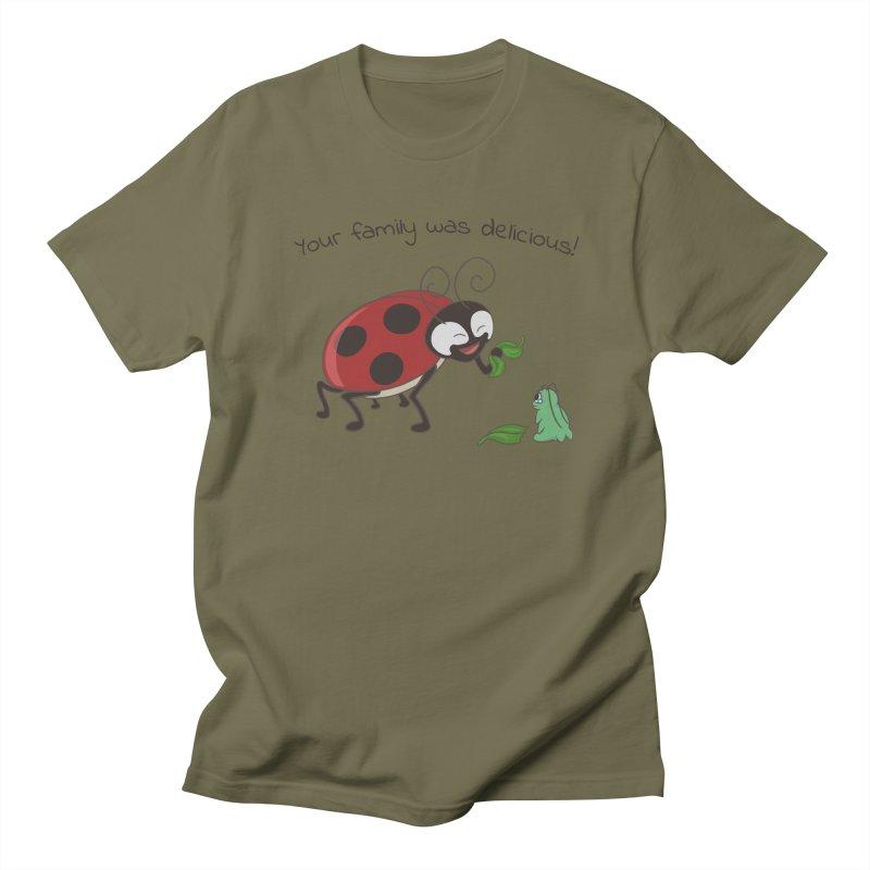 Adorable Monster Men's Regular T-Shirt by Creaturista's Fine Goods