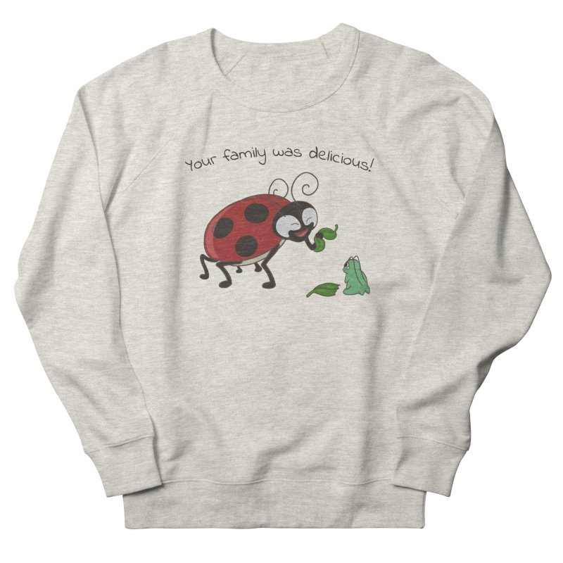 Adorable Monster Women's French Terry Sweatshirt by Creaturista's Fine Goods