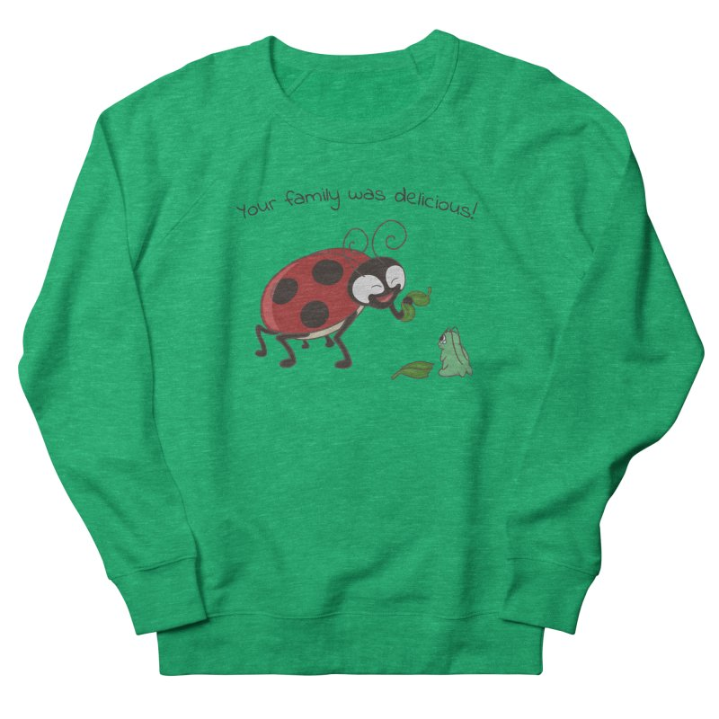 Adorable Monster Men's French Terry Sweatshirt by Creaturista's Fine Goods