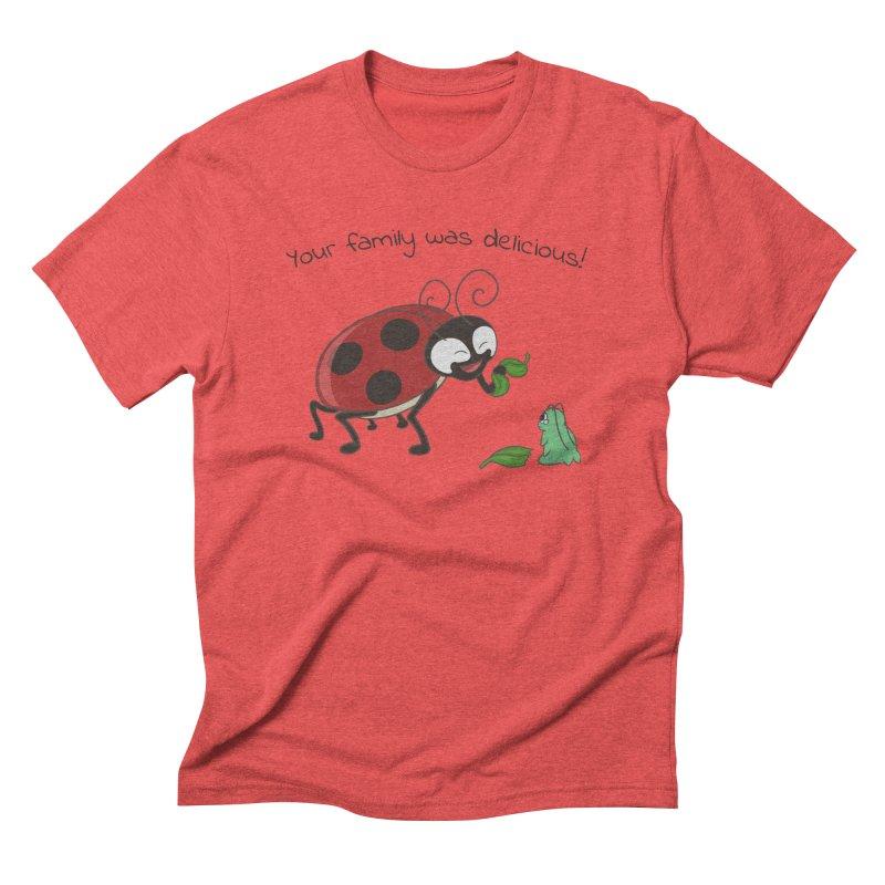 Adorable Monster Men's Triblend T-Shirt by Creaturista's Fine Goods