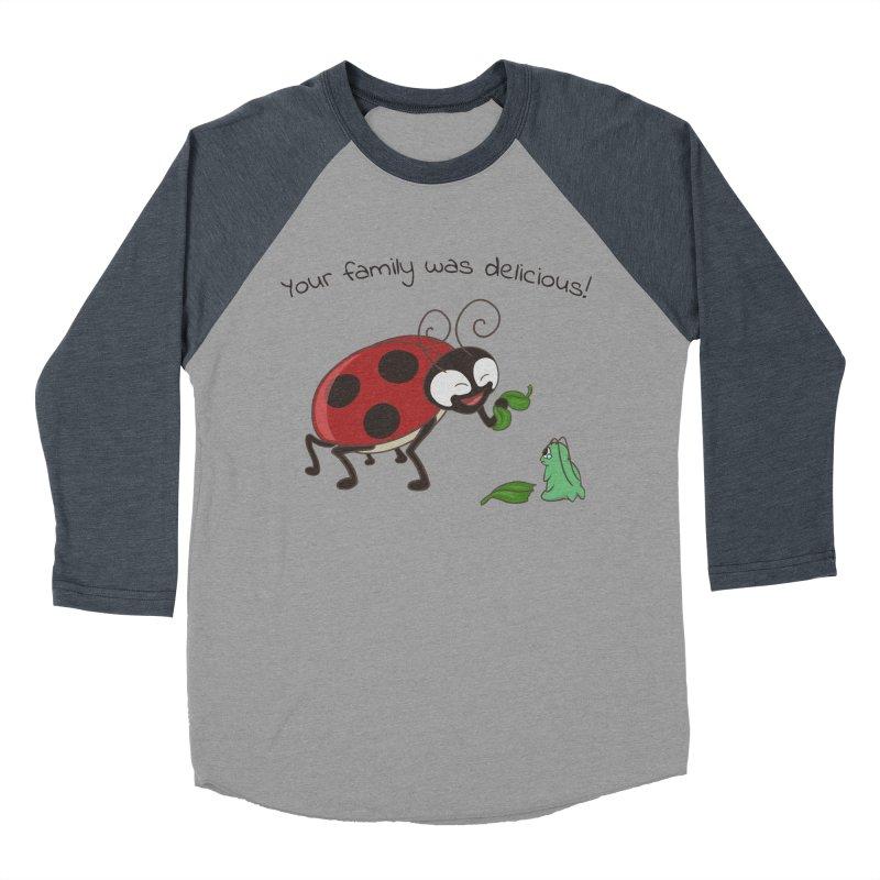 Adorable Monster Women's Baseball Triblend Longsleeve T-Shirt by Creaturista's Fine Goods