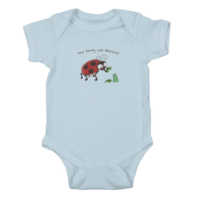 Adorable Monster Kids Baby Bodysuit by Creaturista's Fine Goods