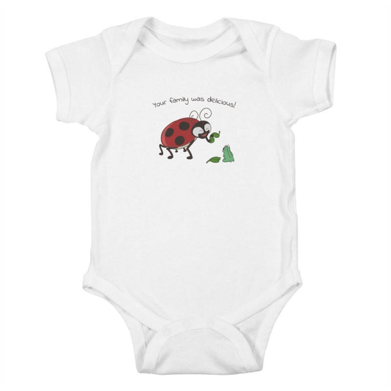 Adorable Monster Kids Baby Bodysuit by Creaturista's Fine Goods