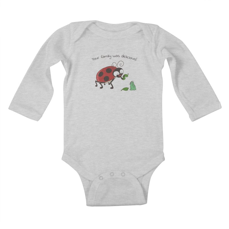 Adorable Monster Kids Baby Longsleeve Bodysuit by Creaturista's Fine Goods