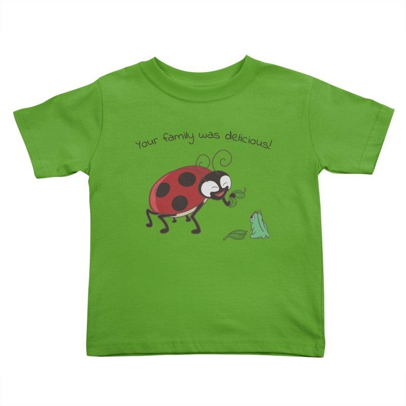 Adorable Monster Kids Toddler T-Shirt by Creaturista's Fine Goods